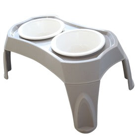 M-PETS Combi Double Bowl - My Pooch and Co.