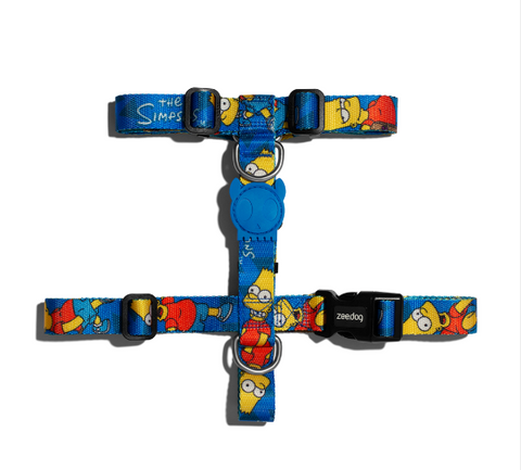 ZEE.DOG Bart Simpson H-Harness - My Pooch and Co.