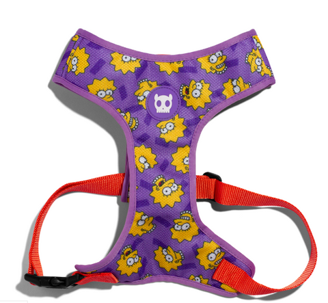 ZEE.DOG Lisa Simpson Air Mesh Plus Harness - My Pooch and Co.