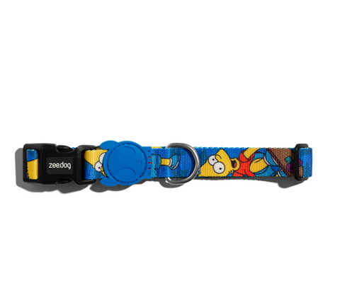ZEE.DOG Bart Simpson Collar - My Pooch and Co.