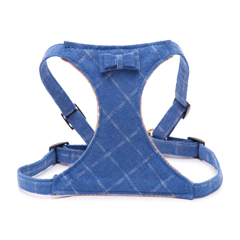 PAWSITIV Handmade Toby Blue Harness - My Pooch and Co.