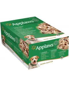 APPLAWS Dog Chicken Jelly Multipack 8 x 156g - My Pooch and Co.