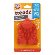 Arm & Hammer Super Treadz Mini Gorilla Dental Toy - My Pooch and Co.