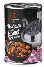ALPHA SPIRIT Meat Balls With Lamb & Cumin 400gm - My Pooch and Co.
