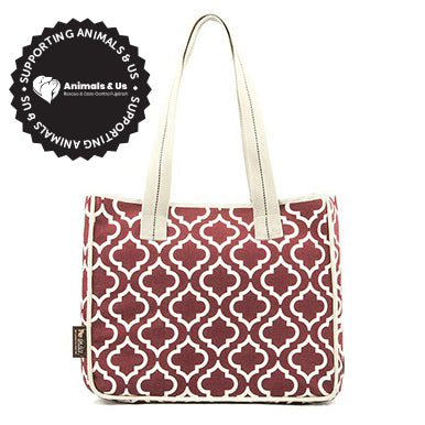Moroccan Tote Bag Marsala - My Pooch and Co.