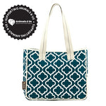 Moroccan Tote Bag Navy - My Pooch and Co.