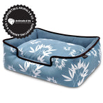 Bamboo Lounge Bed Blue - My Pooch and Co.