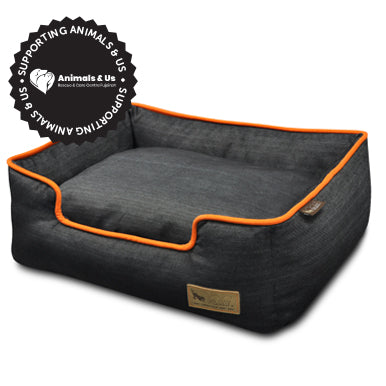 Urban Denim Lounge Bed - My Pooch and Co.