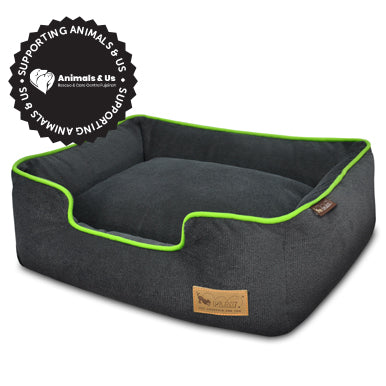 Urban Plush Lime Lounge Bed - My Pooch and Co.