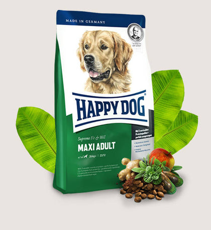 HAPPY DOG Supreme Fit & Well Maxi Adult - My Pooch and Co.