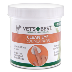 Vet's+Best Clean Eye Round Pads (100pads) - My Pooch and Co.
