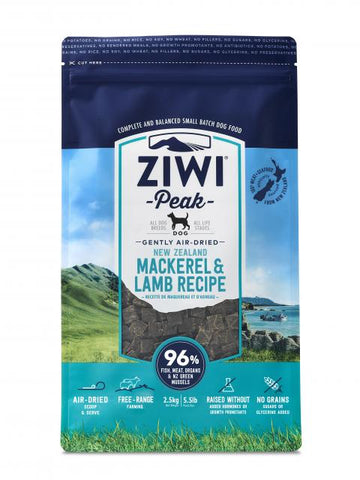 ZIWI PEAK Air-Dried Mackerel and Lamb - My Pooch and Co.