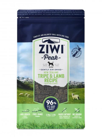 ZIWI PEAK Air-Dried Tripe & Lamb - My Pooch and Co.