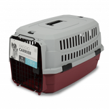 M-PETS Viaggio Carrier Red/Grey - My Pooch and Co.