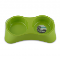 M-PETS Melamine High Back Slow Down Bowl - My Pooch and Co.