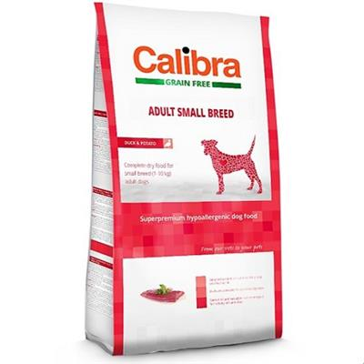 CALIBRA Adult Small Breed Duck 2kg - My Pooch and Co.