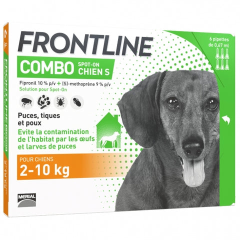 Frontline Combo For Small Dogs (3 pipettes) - My Pooch and Co.