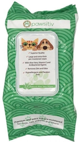 PAWSITIV wipes (150pcs) - My Pooch and Co.