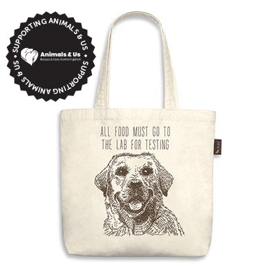 All Food Must Go To The Lab! Tote Bag - My Pooch and Co.