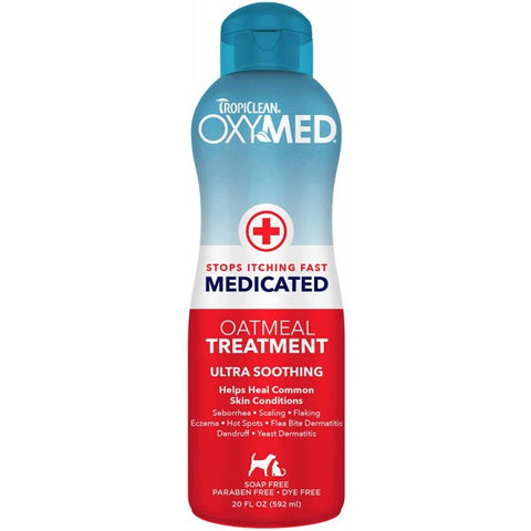 Oxymed Oatmeal Medicated Treatment 595ml - My Pooch and Co.