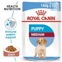 ROYAL CANIN SHN Medium Puppy (10x140g) - My Pooch and Co.