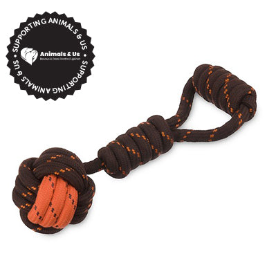 Tug Ball Rope Toy - My Pooch and Co.