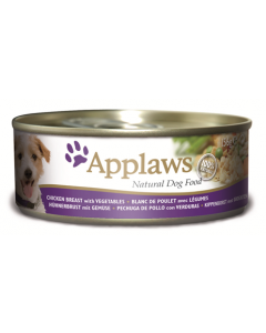APPLAWS Dog Chicken with Vegetables 156g - My Pooch and Co.