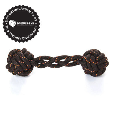 Barbell Rope Toy - My Pooch and Co.