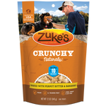 ZUKES Crunchy Naturals with Peanut Butter and Banana 12oz - My Pooch and Co.