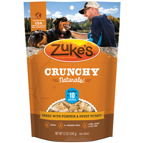 ZUKES Crunchy Naturals with Pumpkin and Sweet Potato 12oz - My Pooch and Co.