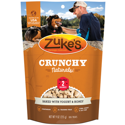 ZUKES Crunchy Naturals with Yoghurt and Honey 12oz - My Pooch and Co.