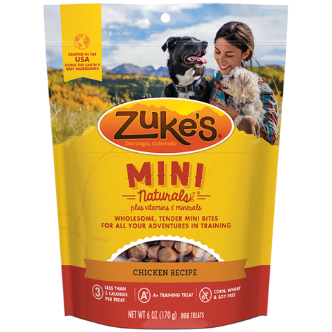 ZUKES Mini Naturals with Chicken 6oz - My Pooch and Co.