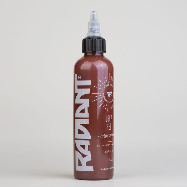 1oz Radiant Deep Red Tattoo Ink