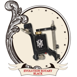 HM Mini Evolution Rotary Machine - BLACK