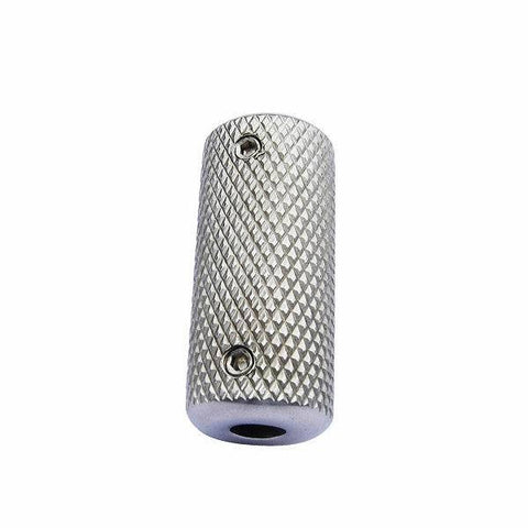 Stainless Steel Knurled Grip 22mm Plain