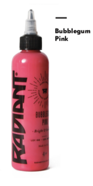 1oz Radiant Bubblegum Pink Tattoo Ink