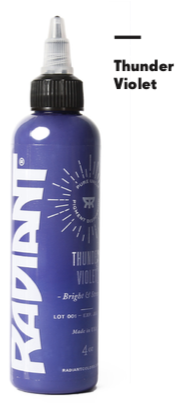 1oz Radiant Thunder Violet Tattoo Ink