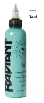 1oz Radiant Teal Tattoo Ink