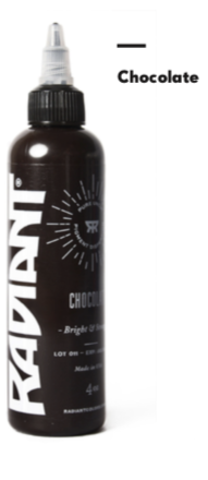 1oz Radiant Chocolate Tattoo Ink