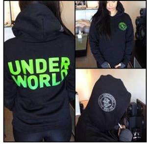 Underworld Black Hoodie - Small only available