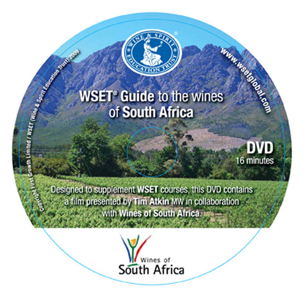 WSET Guide to the Wines of South Africa - DVD