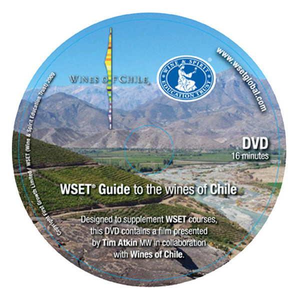 WSET Guide to the Wines of Chile - DVD