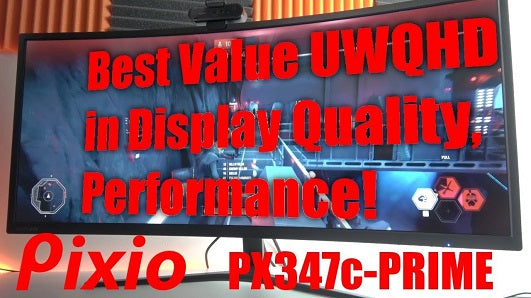 Pixio PX347c PRIME: Best Value for Quality and Performance!