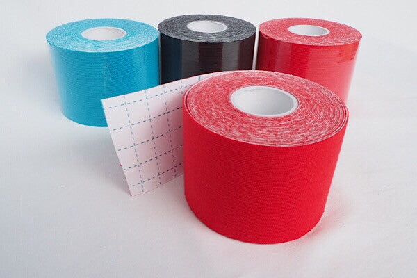 Protect your hands, fingers or feet with Hold Strong Sports Tape. Wear holes in the tape - not your body. In colours red, blue and black