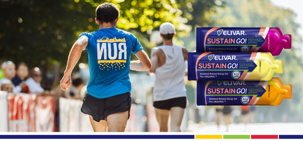 Introducing SUSTAIN GO! - The World's First Sustained Release Energy Gel