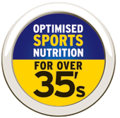 Elivar - Sports Nutrition Optimised for the Over 35's.
