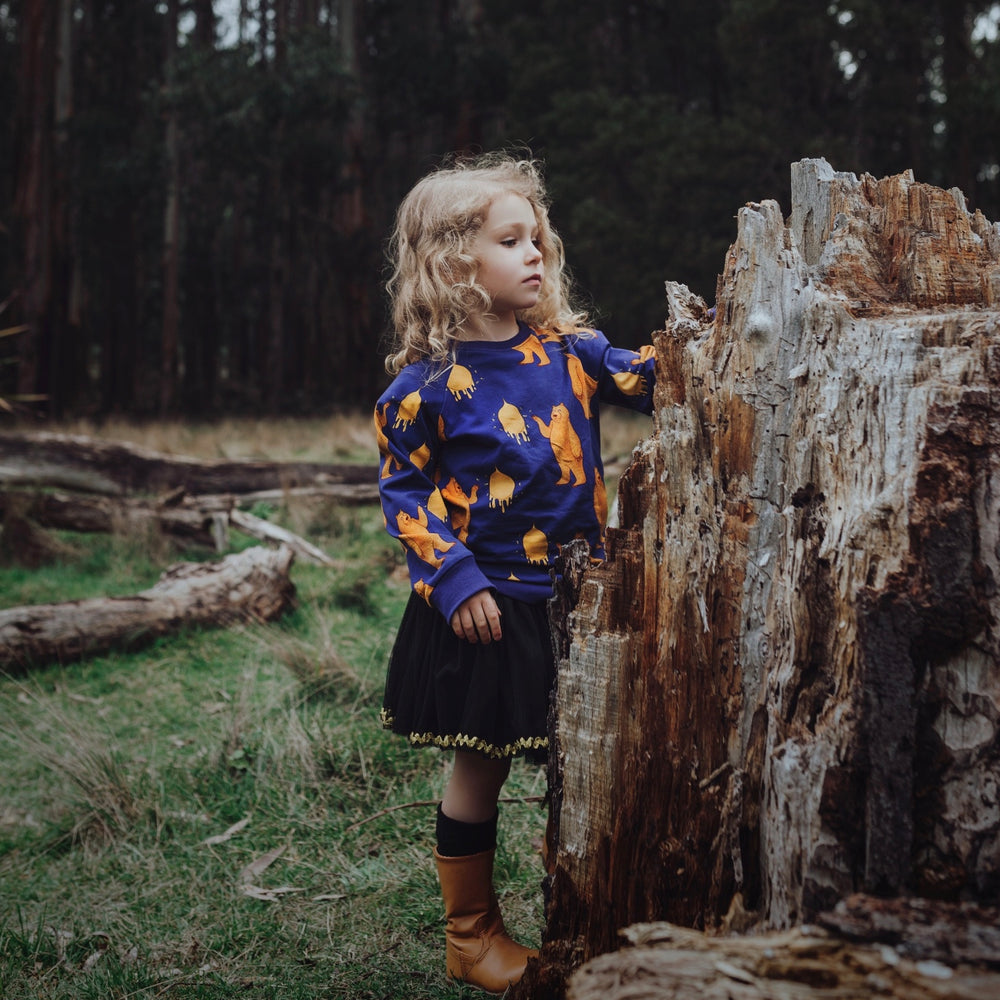 Boys-Girls-Winter-Organic-Cotton-jumper-top-bear-print