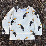 Boys-Girls-Winter-Organic-Cotton-top-Raz-the-toucan-print