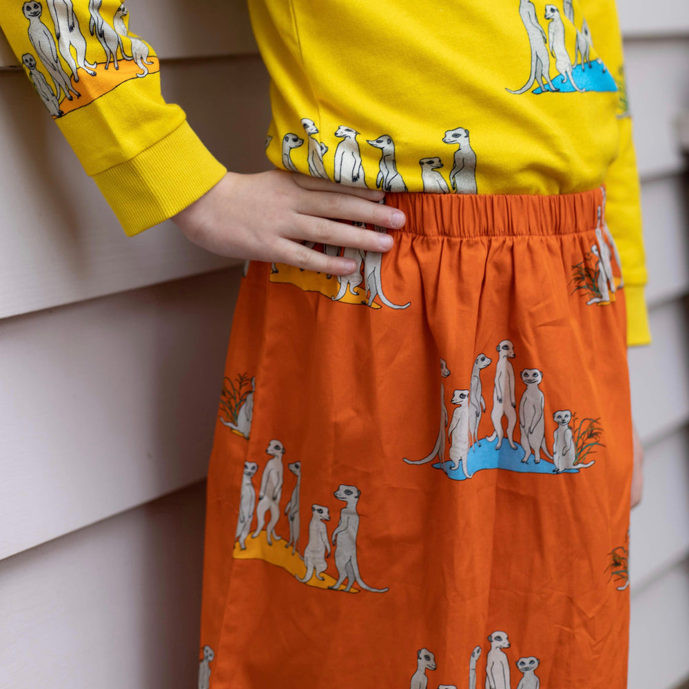 Skirt - Bizzybuddies Meerkats on flame