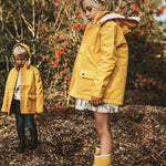 Jacket - Yellow with Raz the toucan print